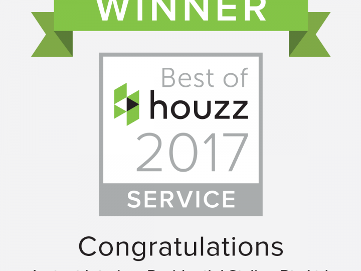 Instant Interiors Residential Styling Awarded Best of Houzz Service 2017