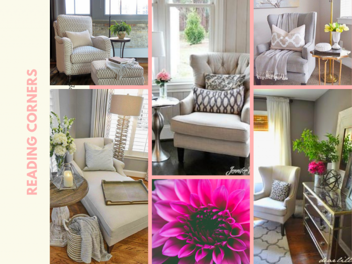 Maximising Space & Creating a Reading Corner Retreat – Home staging ideas.  Copy