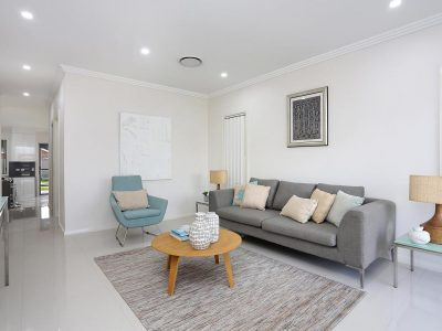 styling a house for sale Sydney Revesby North living room