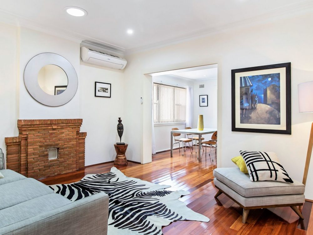 styling a house for sale Sydney Putney living room