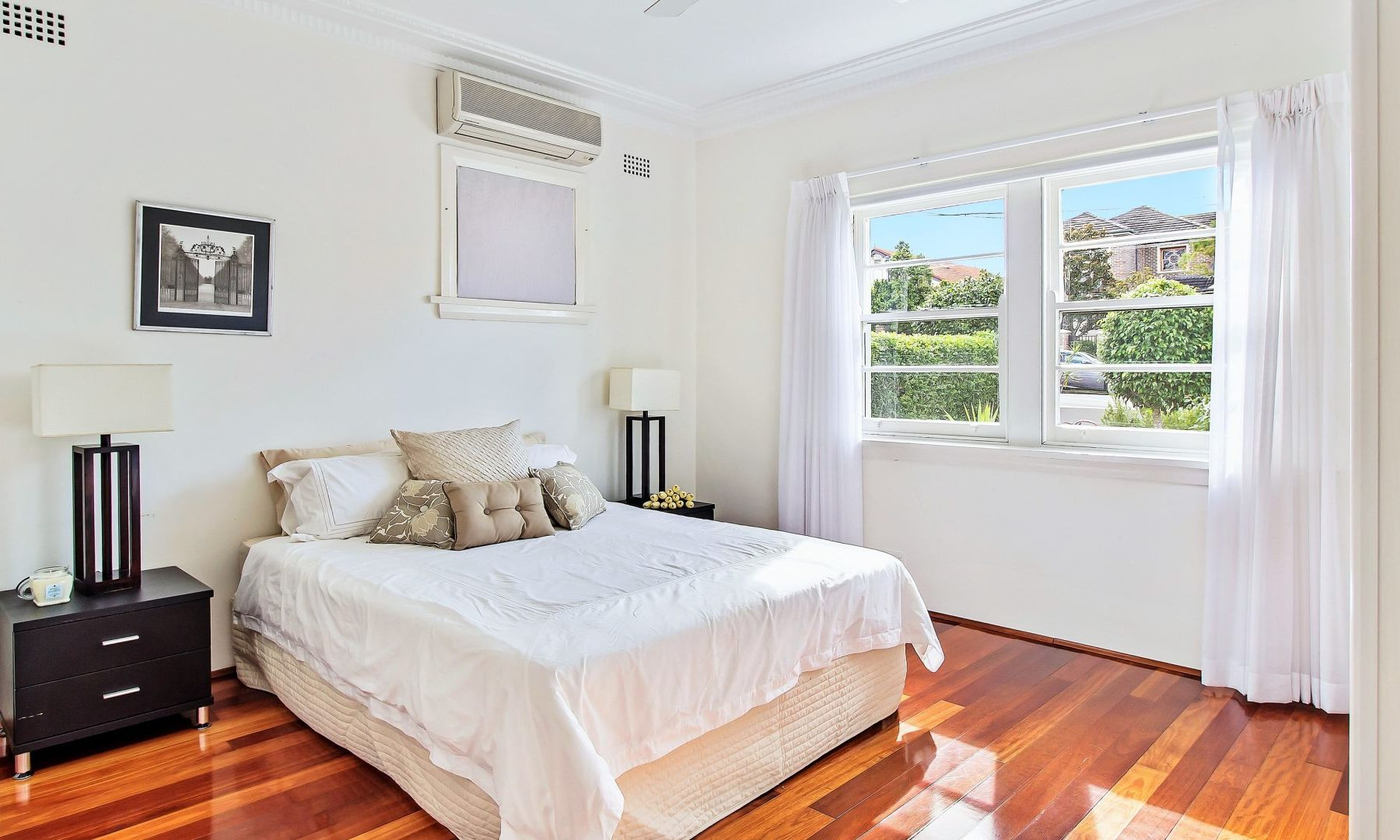 styling a house for sale Sydney Putney bedroom